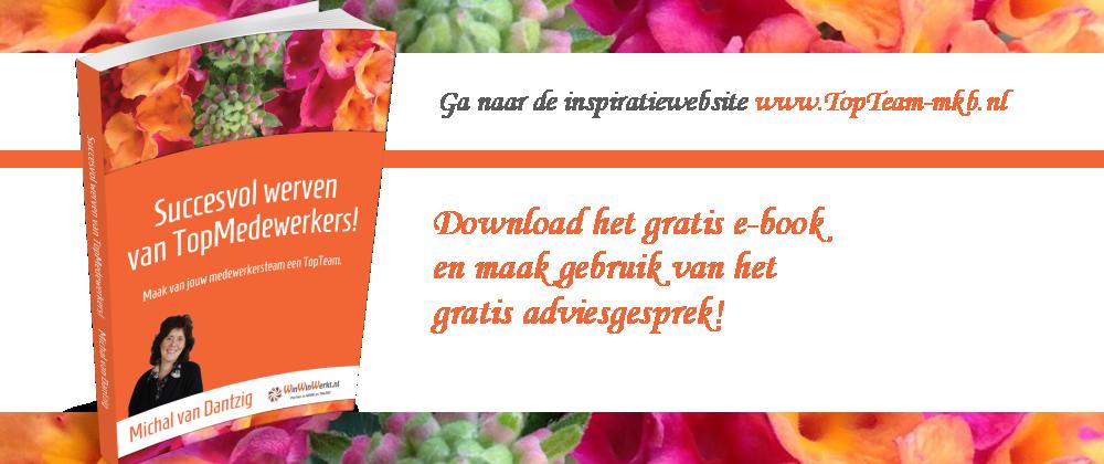 Gratis e-book en gratis adviesgesprek