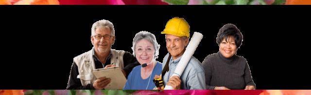 Uitzendbureau 65+ gepensioneerden - flexibele bijbanen
