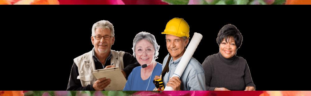 Uitzendbureau 65+ gepensioneerden, parttime en oproep bijbanen voor gepensioneerden